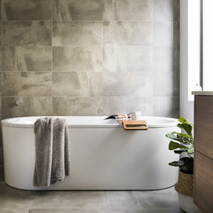 Lavare Bathroom Renovation Modern Grey Grain 02
