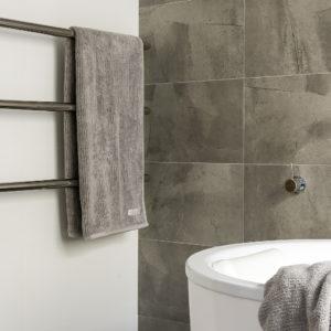 Lavare Bathroom Renovation Modern Grey Grain 03