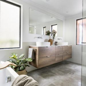 Lavare Bathroom Renovation Modern Grey Grain 05