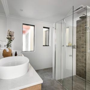 Lavare Bathroom Renovation Modern Grey Grain 08