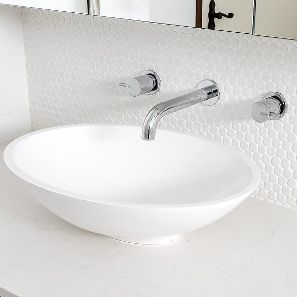 Lavare Modern Bathroom Renovation Dado Peru Basin 1