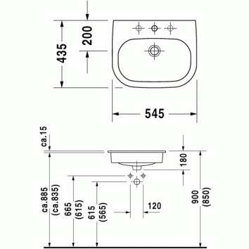 d code inset basin 033754 tech
