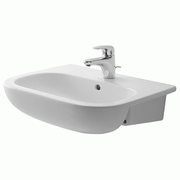d code semi recessed basin 033955