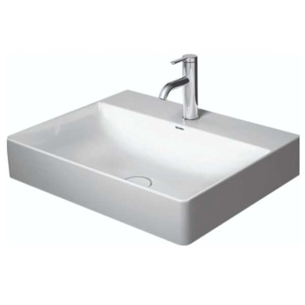 duravit durasquare wall basin 600 235360