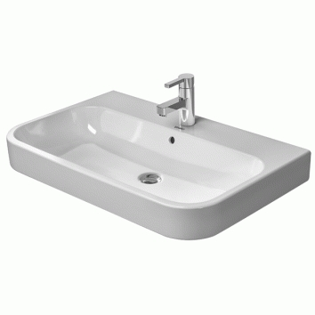 happy d2 650 wall hung furniture basin 231865