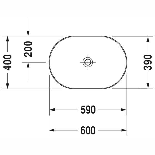 luv wash bowl basin 03796000 spec