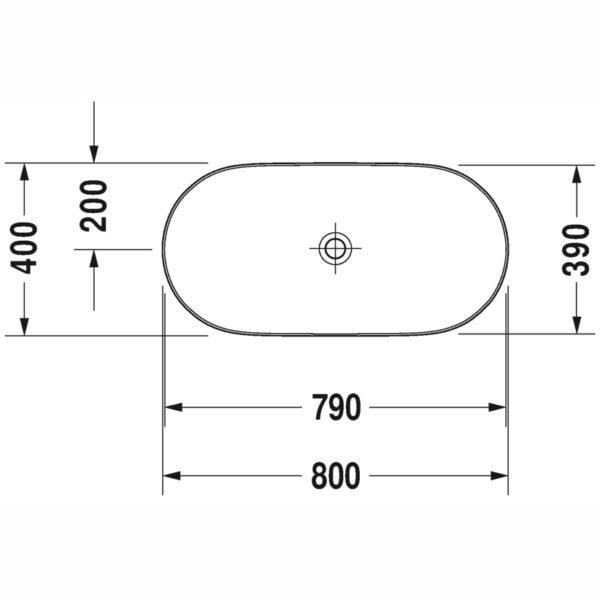 luv wash bowl basin 03798000 spec