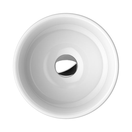 sand round semi inset basin A97.97.35 2