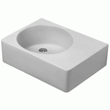 duravit scola wall hung basin left 068460