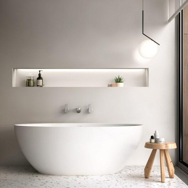 Victoria + Albert Corvara 1500 Bath Gloss White
