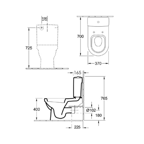 architectura u btw toilet suite spec