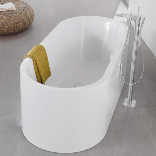 centro duo oval meisterstuck freestanding bath 1700