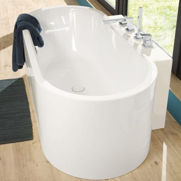 centro duo oval meisterstuck freestanding bath 1800