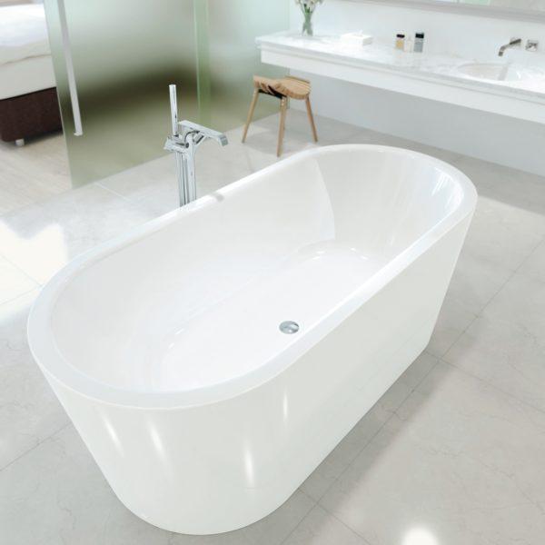 classic duo oval meisterstuck freestanding bath 2