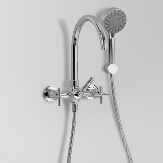 icon bath mixer with multi handshower a67.20v2