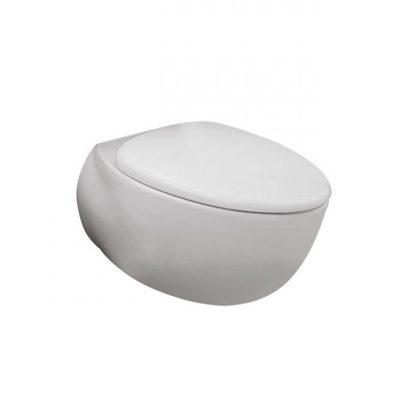 Le Muse Wall Hung Toilet Pan