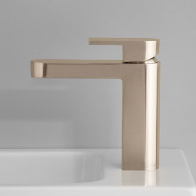 metropolis basin mixer brushed platinum a76.02