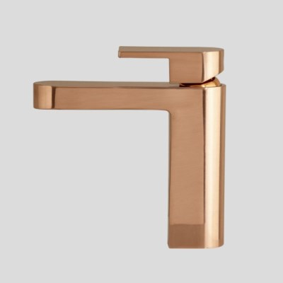 metropolis basin mixer brushed rose gold a76.02