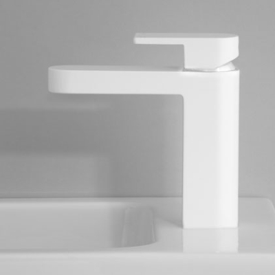 metropolis basin mixer white a76.02
