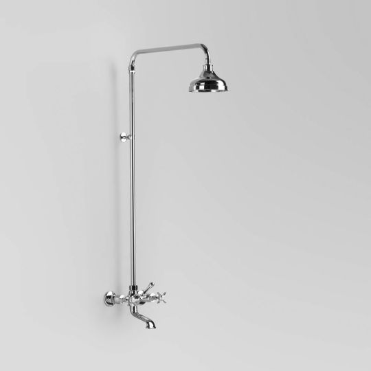 olde english exposed shower and bath set A51.25