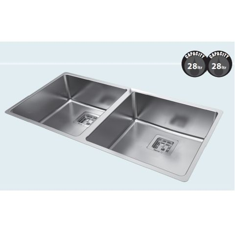 Mercer Wakefield Double Bowl Sink WD270