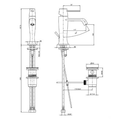 flli frattini delizia basin mixer tech