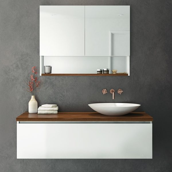 rifco platinum bathroom vanity timber top
