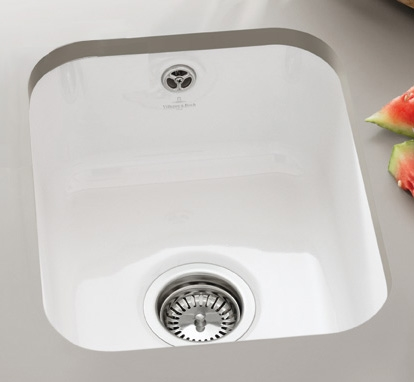 Cisterna 370 Ceramic Undermount Sink