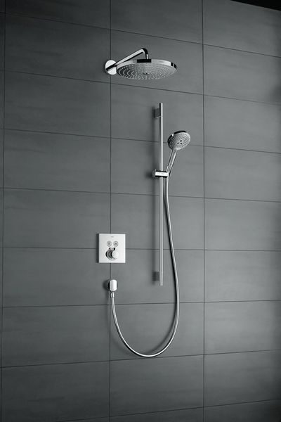Hansgrohe Select E Thermostatic Shower Mixer Lifestyle