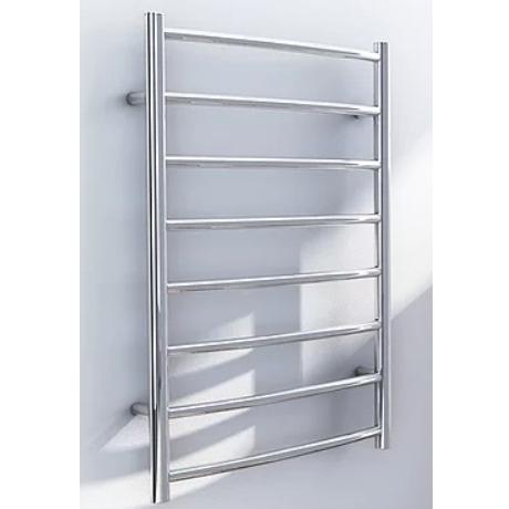 DC Short Streamline Non-heated Ladder Towel Rail