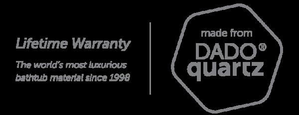 DADOquartz Lifetime Warranty logo