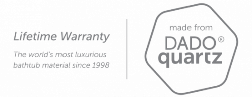 DADOquartz Lifetime Warranty logo