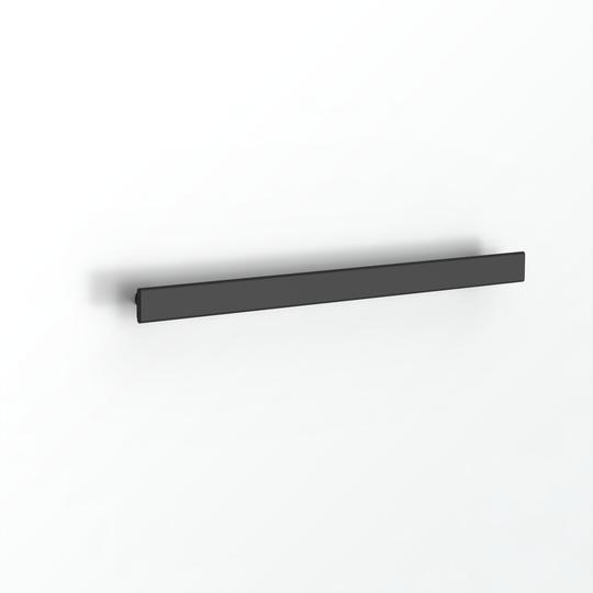 Avenir Folio Heated Towel Rail Matt Black