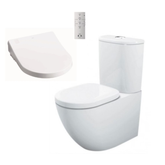 Toto Basic BTW + Remote Washlet Seat