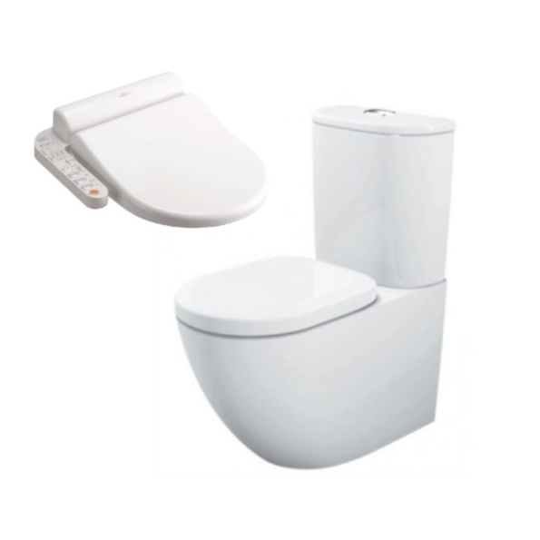 Toto Basic BTW + Side Control Washlet Seat