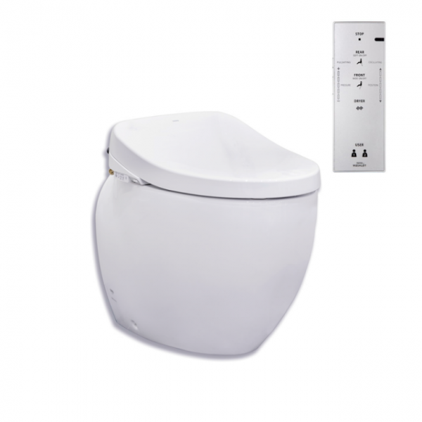 Toto Le Muse Wall Faced Pan + Remote Control Washlet