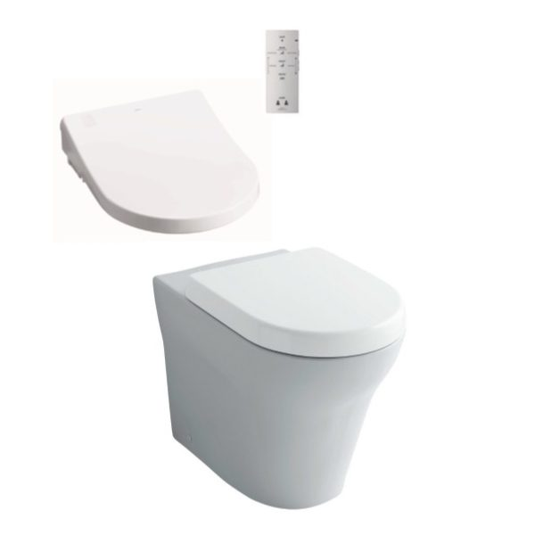 Toto MH Wall Faced + Remote Control Washlet Seat