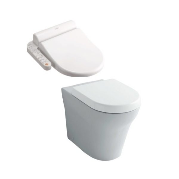 Toto MH Wall Faced + Side Control Washlet Seat