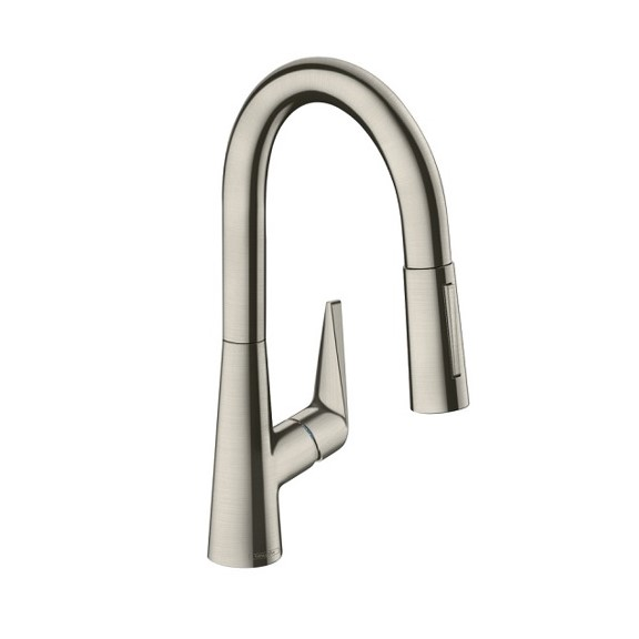 Hansgrohe Talis S M51 Kitchen Mixer Stainless Steel 72813803 pic