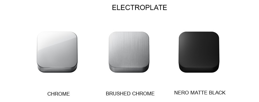 Brodware Electroplate Colour Tapware Finishes