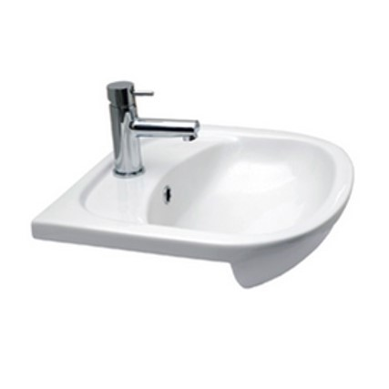 roma semi-recessed basin val-roma