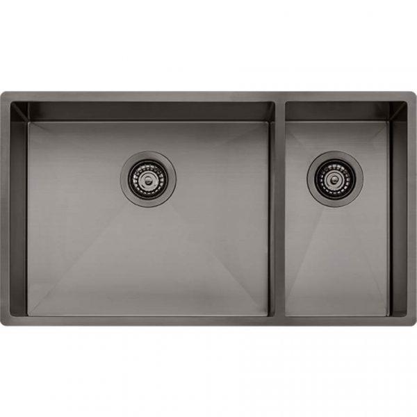 Oliveri Spectra 1.5 Bowl Gunmetal Sink SB35GM
