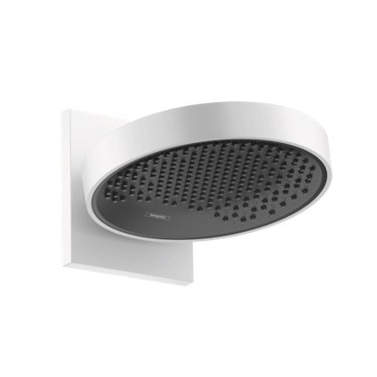 Hansgrohe Rainfinity Overhead Shower with Connector Matt White