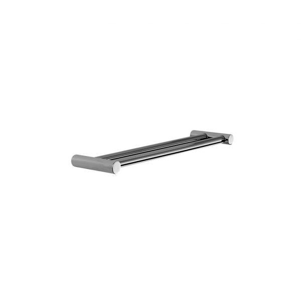 1.9957.60.0.01 City Stik Double Towel Rail 600mm