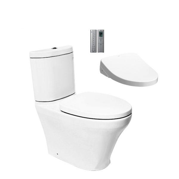Toto Close Coupled Toilet + Remote Washlet
