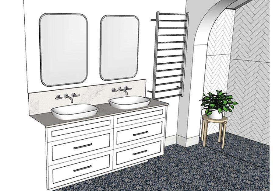 Lavare Beaufort Bathroom Renovation - Perspective