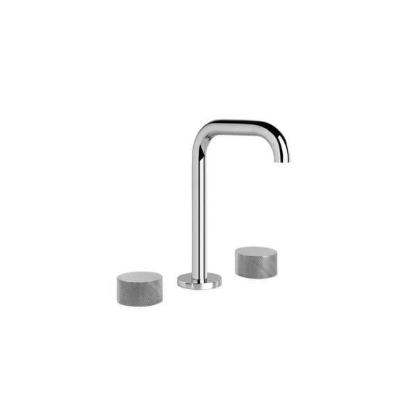 1.9500.80.7.01 Halo X Basin Set with Square Swivel Spout