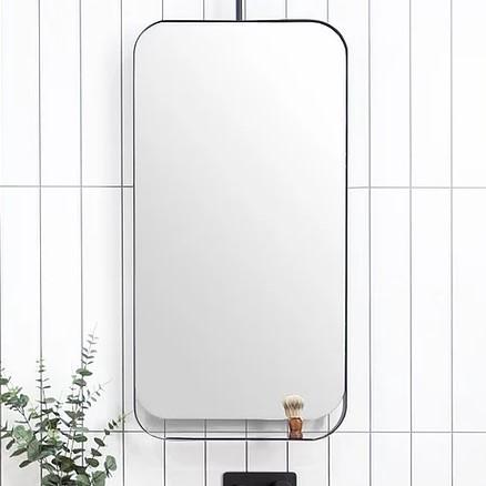 ADP Allegra Black Frame Mirror